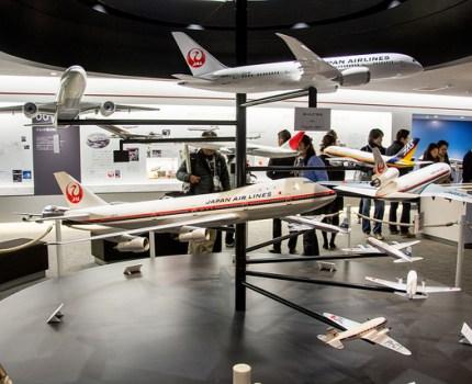 JAL見学会その2 JAL SKY MUSIUMで日本の航空機の歴史を学ぶ