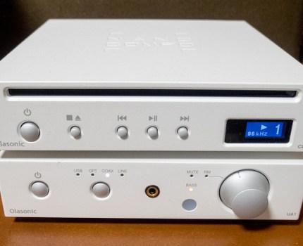 Olasonicの超小型NANOCOMPO アンプNANO-UA1とCDプレーヤーNANO-CD1で良い音に囲まれ幸せに