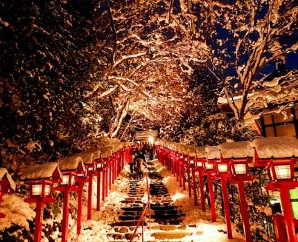 雪の京都 名所巡り 清水寺 圓徳院 詩仙堂 圓光寺 貴船神社