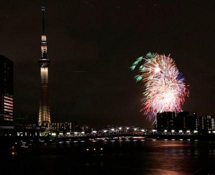 CANON EOS 70D 隅田川花火大会をWi-Fi接続でスマホで撮影