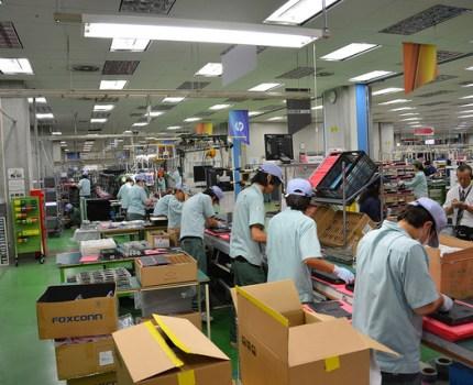日本HPのMADE IN TOKYOの拠点 昭島事業所でPC生産現場を見学
