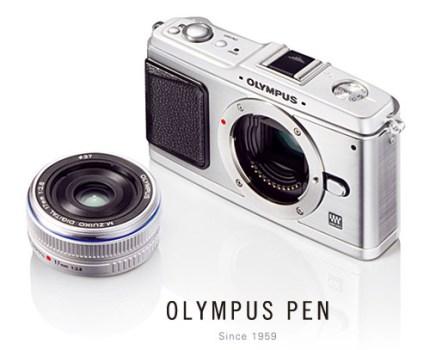 コンパクトなマイクロフォーサーズ機OLYMPUS E-P1発表
