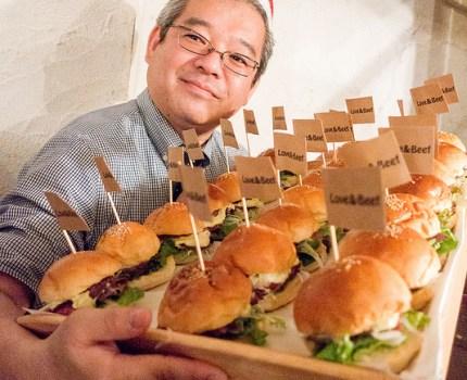 シュッドウエストワインと薪グリル肉でバーガークリパ 第43回 マンスリーハンバーガーTV クリスマスパーティー!