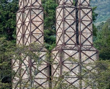 世界遺産 韮山反射炉と伊豆の国市の田園風景