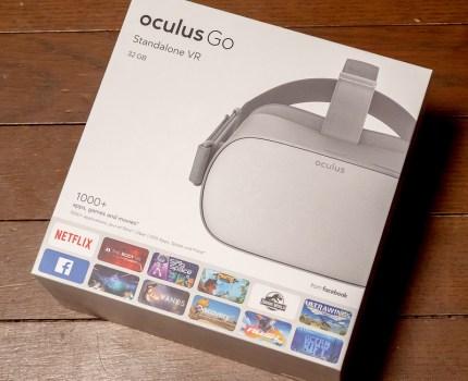 コストパフォーマンス最高なスタンドアロンVR Oculus Go