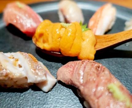 六本木でリーズナブルな寿司バーへ KINKA SUSHI BAR IZAKAYA 六本木