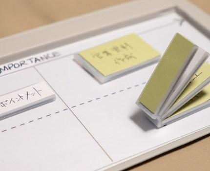 付箋とマグネットの融合でスケジュール管理・タスク管理・ブレスト等 アイデアガジェット Mover