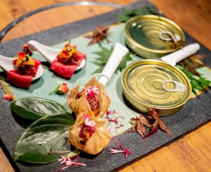 フレンチのような演出・おもてなしの新しいスタイルの焼肉コース 焼肉 うしみつ 恵比寿本店