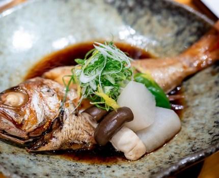 のど黒の煮付けと上越の肴と日本酒 上越やすだ 新橋銀座口店