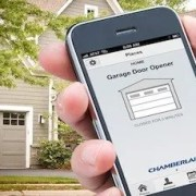 "Have your smart garage door systems installed and integrated by Digitalliving.com HomeAdvisor ""BEST OF"" 3 yrs running"