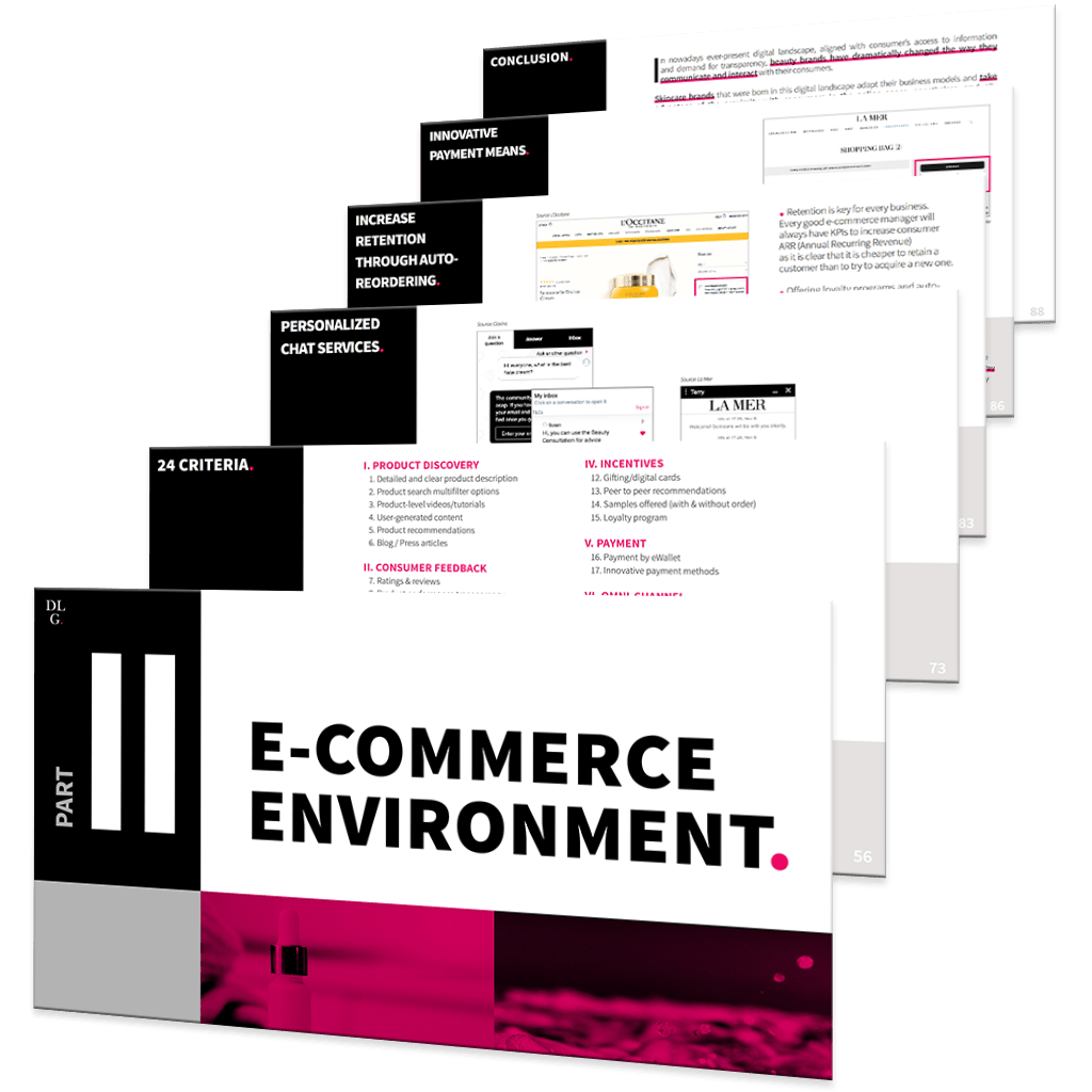 E-Commerce Skincare Report 2020 DLG