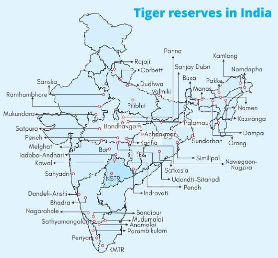Wildlife Protection Tiger Conservation Project - Analysis | UPSC IAS | Digitally learn