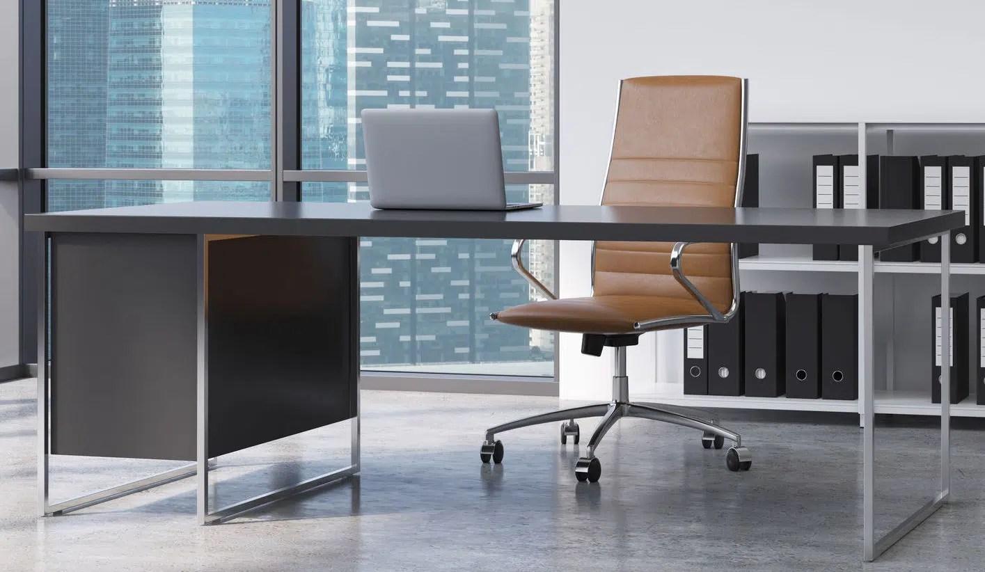 beaux fauteuils de bureau en cuir