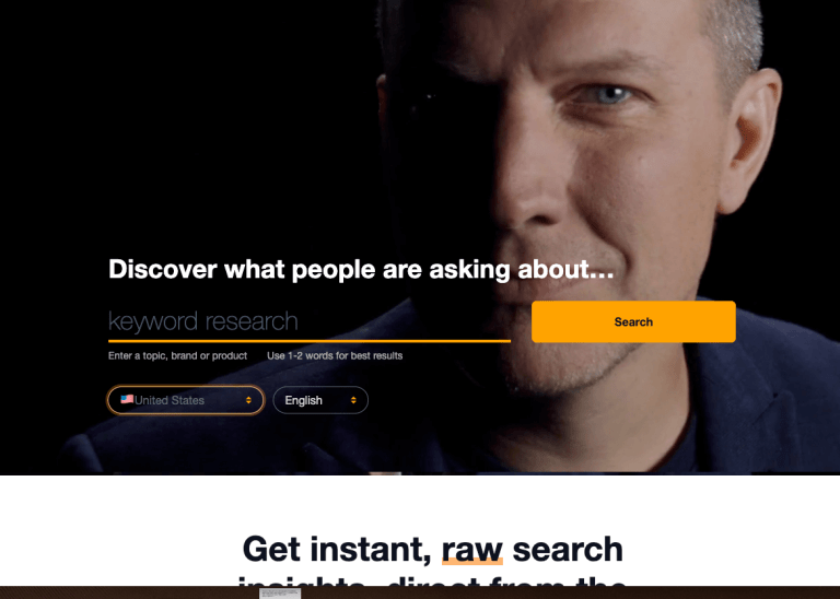 how to do keyword research for free using askthepublic