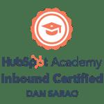 hubspot certified badge