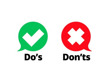 Do's and Don'ts When List Building