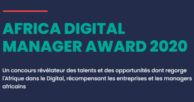 Africa Digital Manager Award