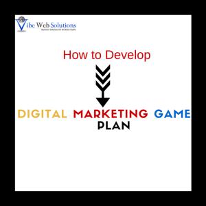 Digital Marketing Game Plan