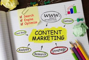 Blogging and content-marketing Digital marketing skills and talent