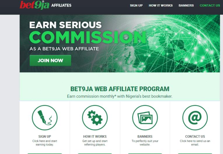 bet9ja affiliate marketing program in nigeria