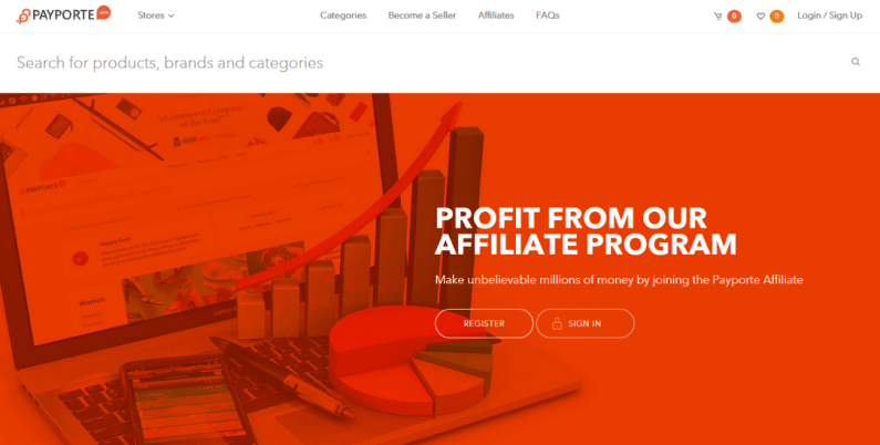payporte affiliate marketing program in nigeria
