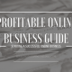 How to start a profitable online business