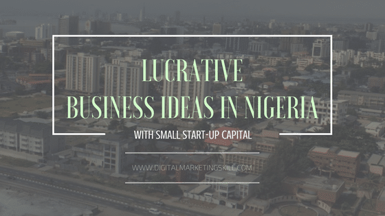 9 Hot Lucrative Business Ideas in Nigeria with Small Startup