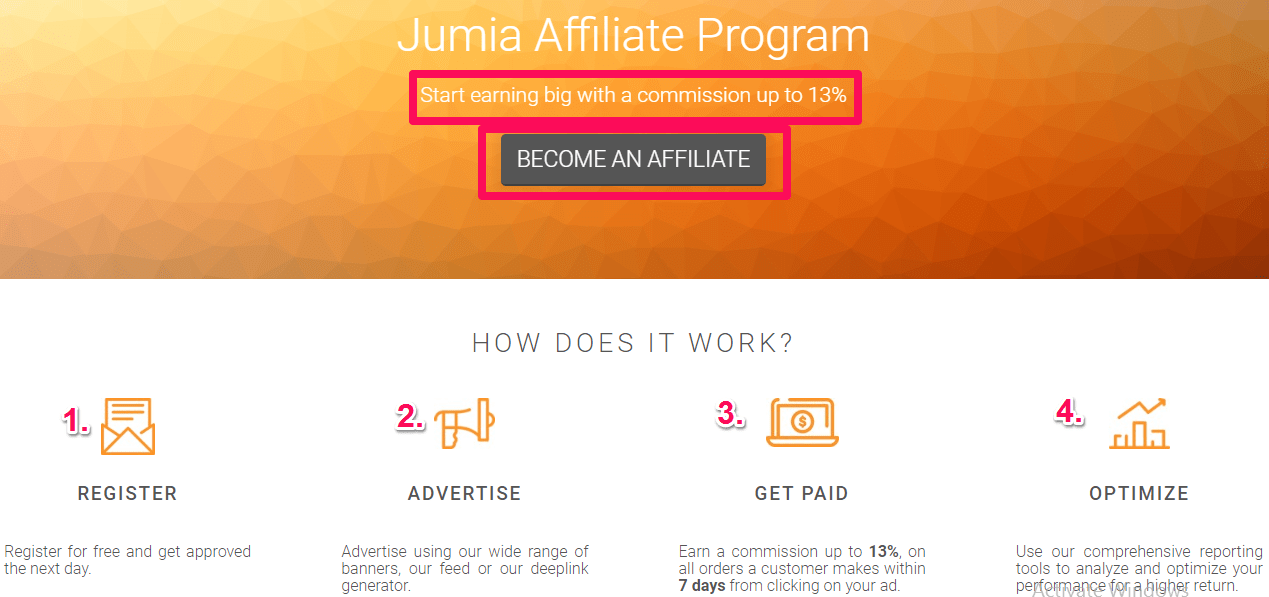 Jumia affiliate program - Make money online