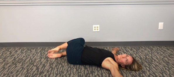 yoga poses for sciatica pain Two Knee Twist