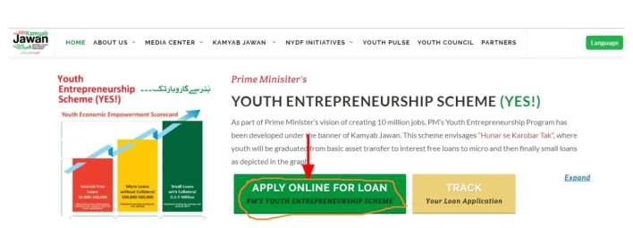 kamyab jawan program online apply
