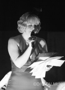 Black and White pictures of the Alternative Queen of Reading