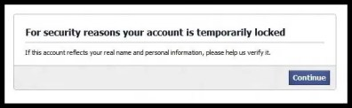 recover Facebook disabled account