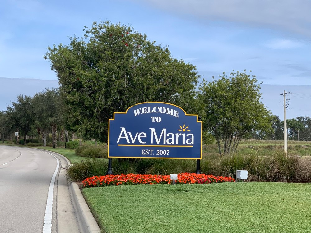 Ave Maria Main Entrance