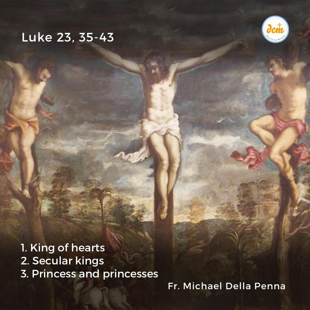 Luke 23, 35-43-instagrm