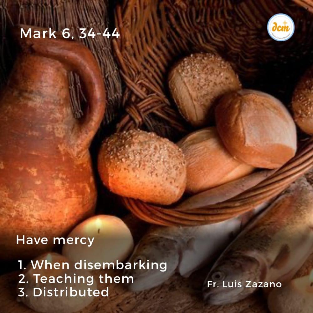 Mark 6, 34-44