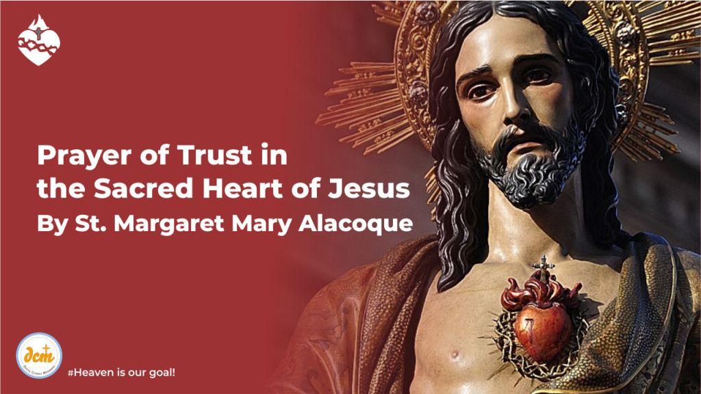 Prayer of Trust in the Sacred Heart of Jesus