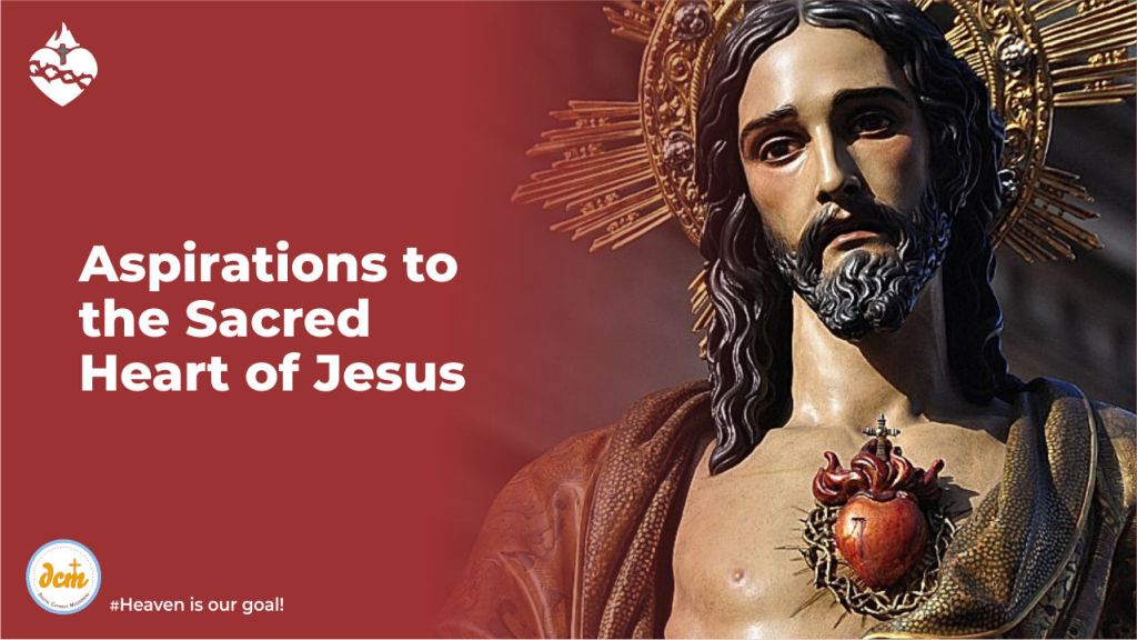 Aspirations to the Sacred Heart of Jesus