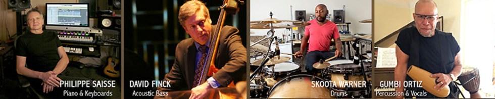 Philippe Saisse Trio Band Photo
