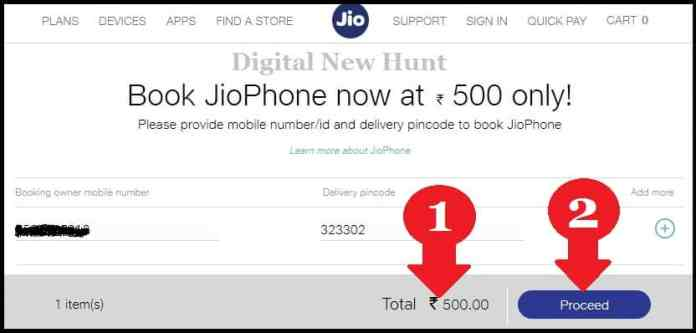 online booking jio mobile