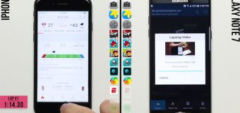 Usporedni test brzine: Samsung Galaxy Note 7 vs iPhone 7