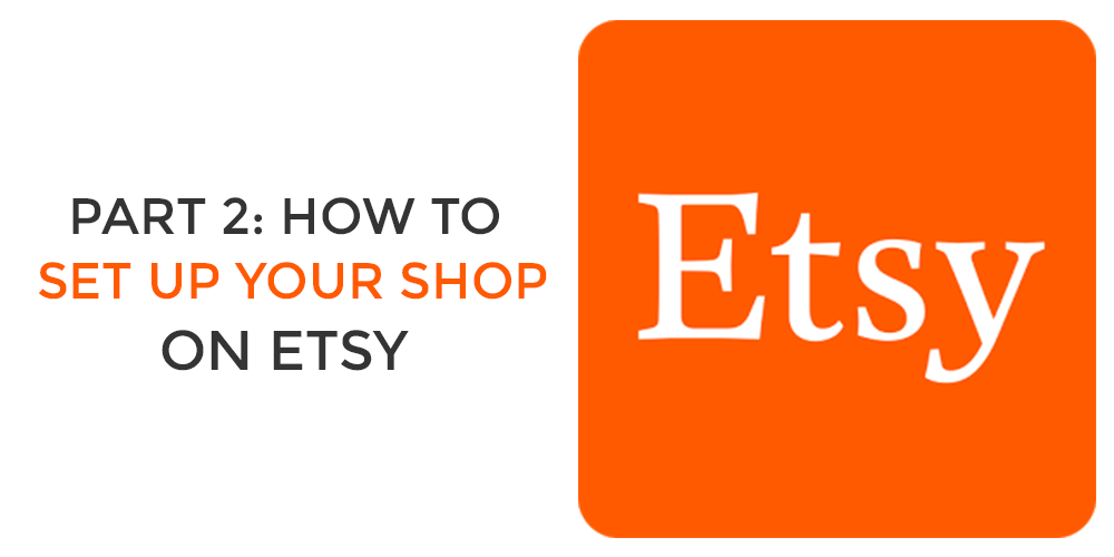 etsy set up your shop