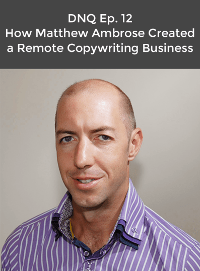 matt ambrose remote business copywriting