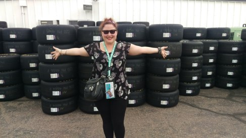 Look at all those tires!