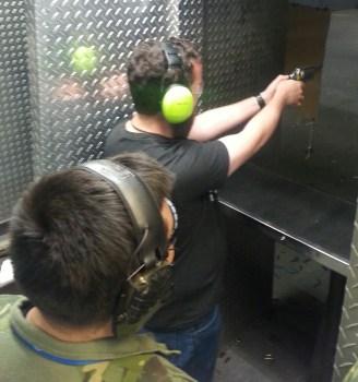 Me, shooting The Judge.