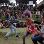 Punk dancing