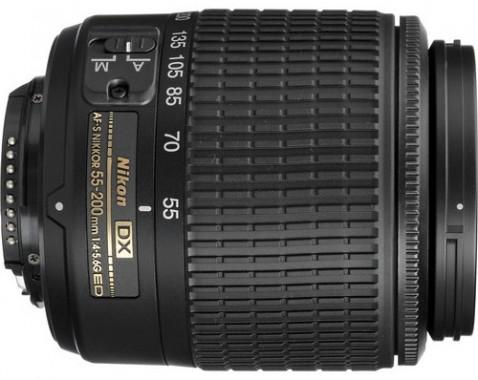 Nikon AF-S DX NIKKOR 55-200mm f/4-5.6G ED Lens