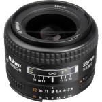 Nikon AF Nikkor 28mm f:2.8D Lens