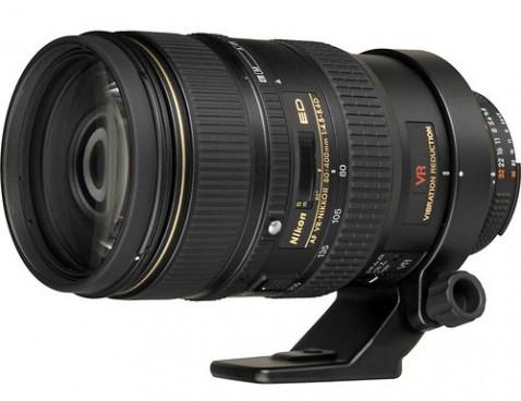 Nikon AF Nikkor 80-400mm f/4.5-5.6D ED VR Lens
