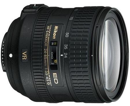 Nikon AF-S NIKKOR 24-85mm f:3.5-4.5G ED VR Lens