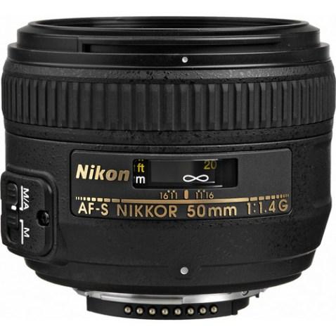 Nikon AF-S NIKKOR 50mm f:1.4G Lens